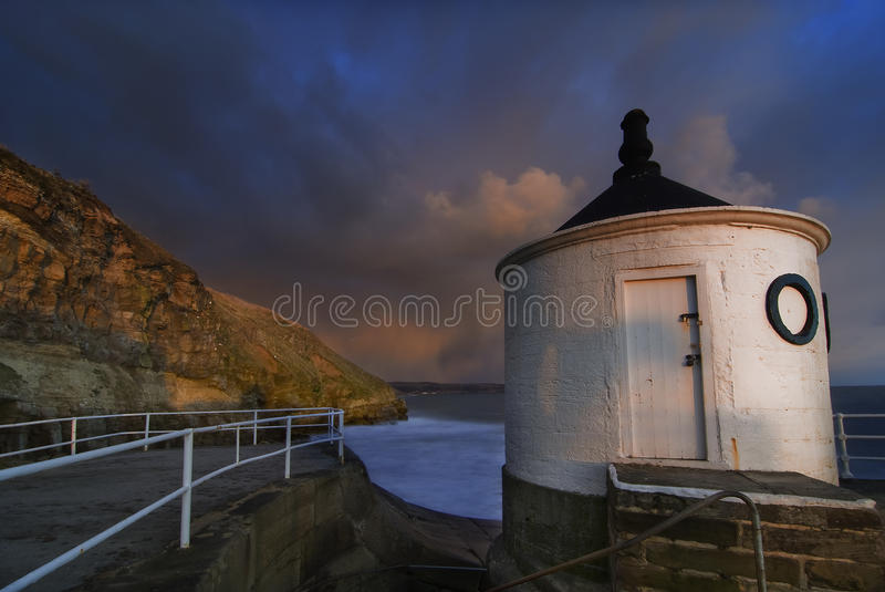 White tower from Whitby [North Yorkshire, UK] royalty free stock photo