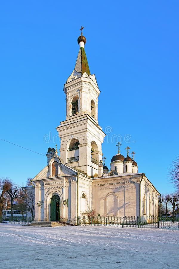 Free White Trinity Church In Tver, Russia Royalty Free Stock Photo - 41305285