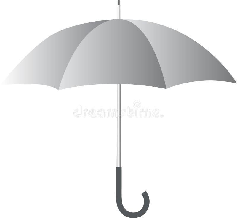 Download White umbrella stock vector. Illustration of nature, raindrops - 9926674