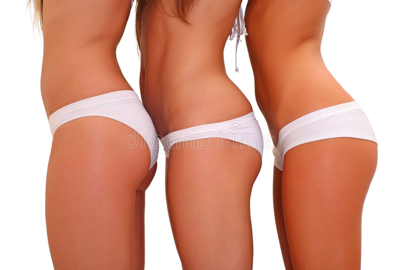 Download In white underwear stock photo. Image of isolated, charming - 9213822