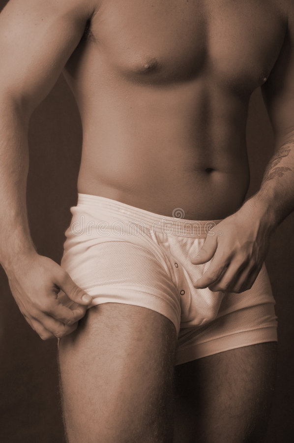 White undies with snaps royalty free stock photos