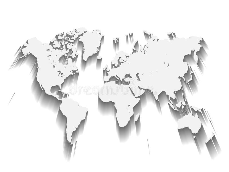 Vector map of world modern flat design with dropped long shadow download vector map of world modern flat design with dropped long shadow isolated on white gumiabroncs Gallery