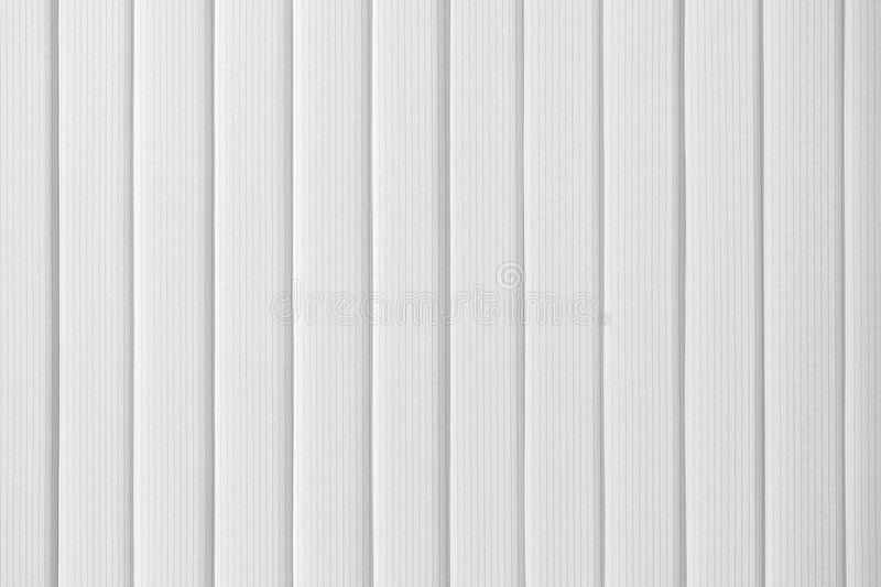 White vertical blinds royalty free stock image