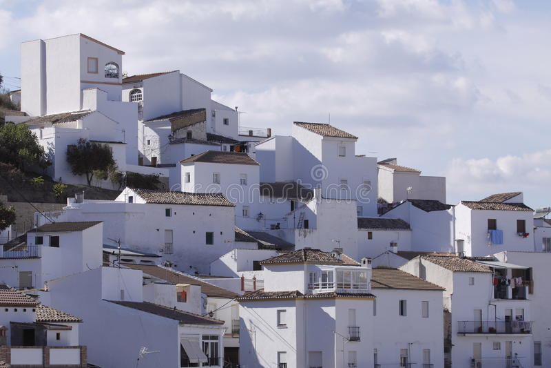 Download White village Mijas stock photo. Image of andalusia, facade - 17423168