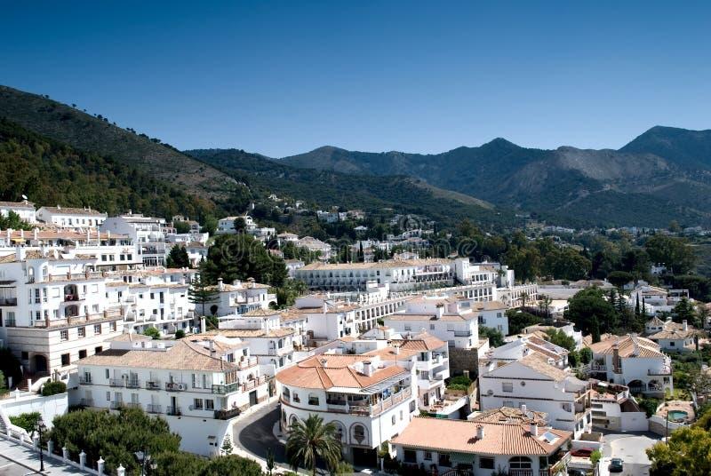 Download White Village. Mijas. Spain. Stock Image - Image of landmark, city: 14633837