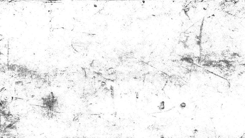 White vintage dust scratched background, distressed old texture overlays space for text. royalty free stock photography