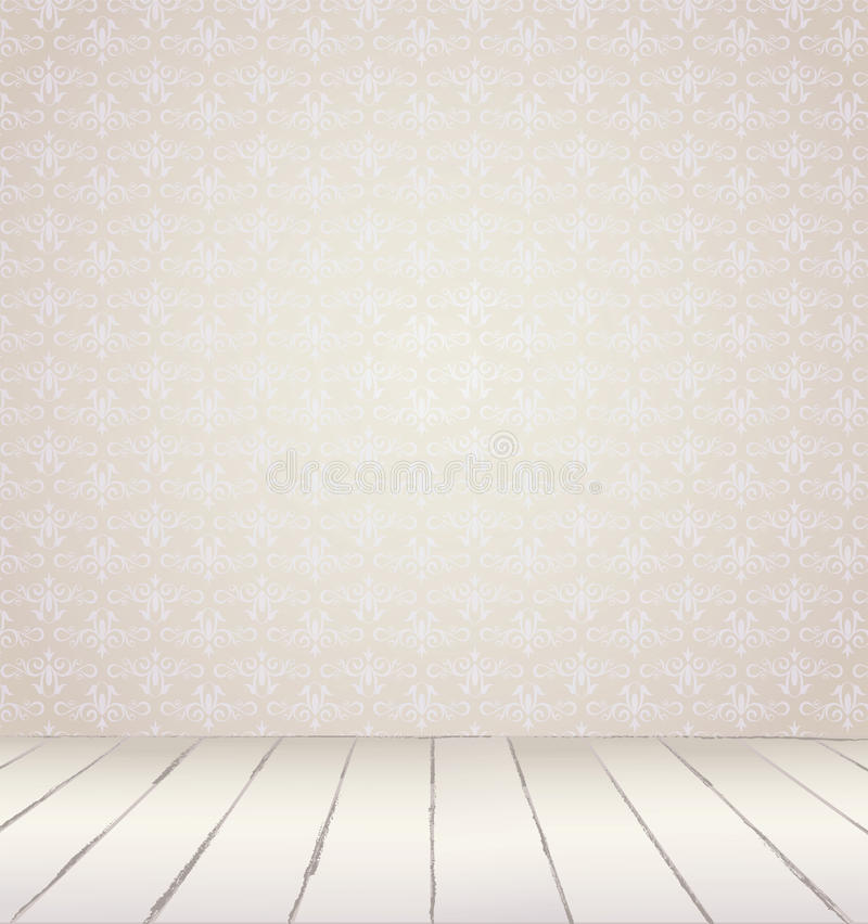White Vintage Interior Royalty Free Stock Photography