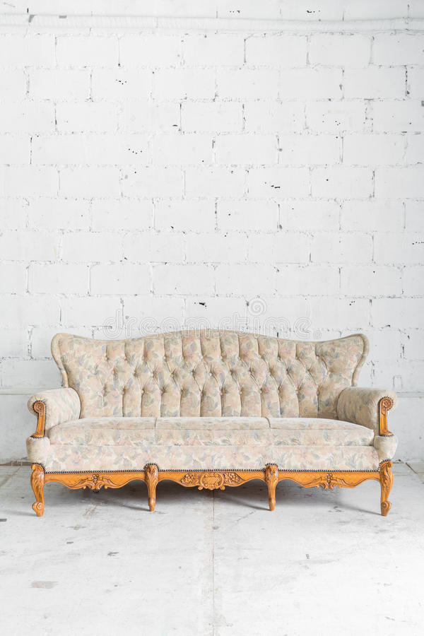 Amazing Download White Vintage Sofa Bed Stock Image. Image Of Covering   53704077