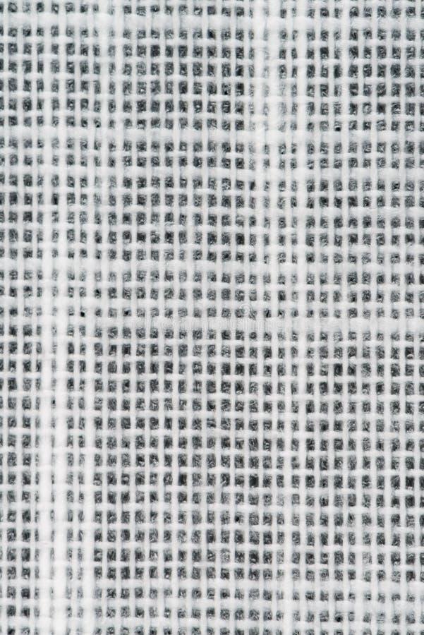 White vinyl texture. Embossed vinyl texture closeup texture background stock image