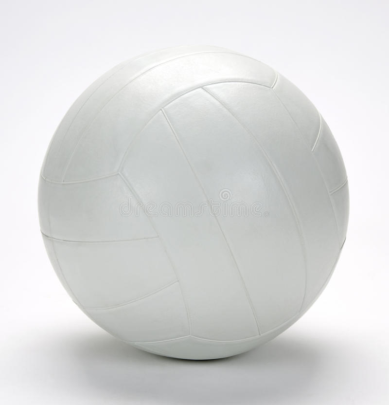 White volley ball royalty free stock photography