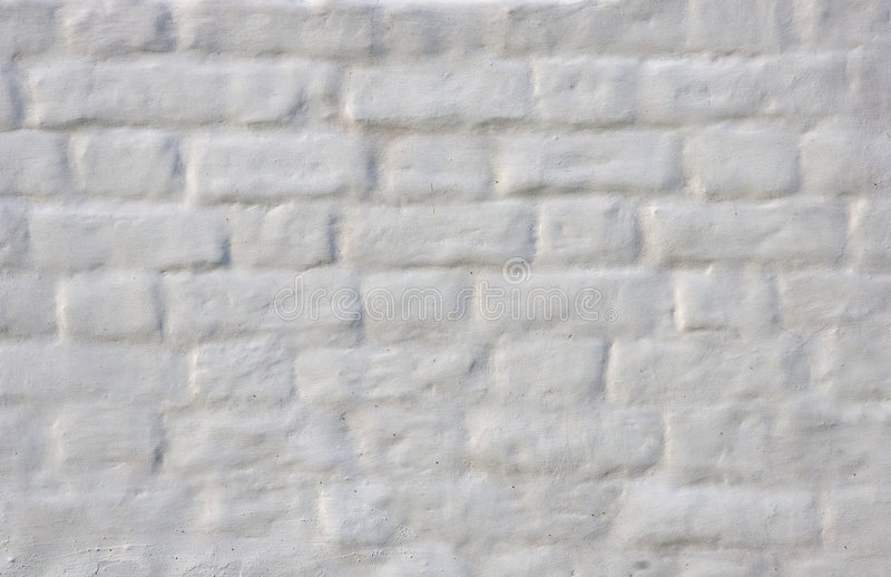 White wall stock image