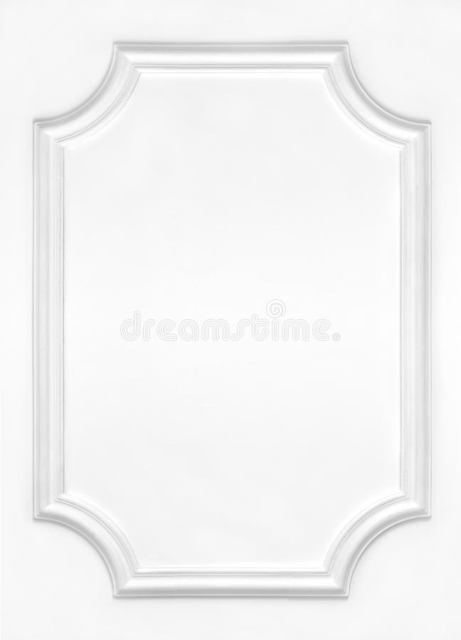 Download White Wall Decorated With Stucco, In The Renaissance, Baroque. Stock Image - Image of elegant, gypsum: 69647879