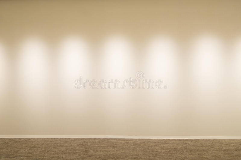 White wall and floor. Great for your design royalty free stock images