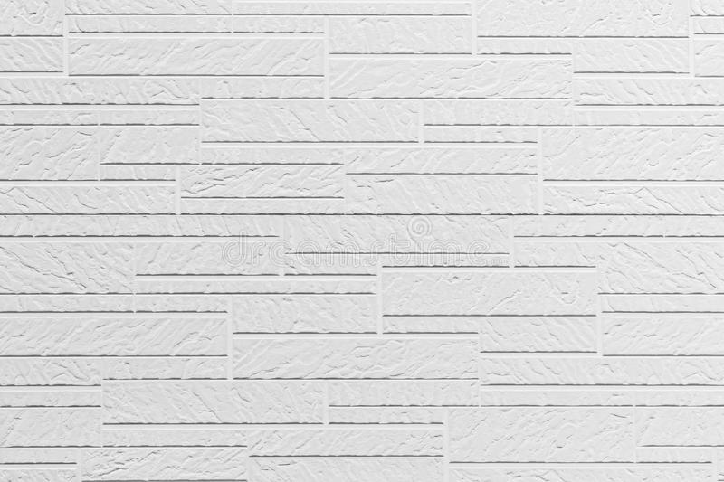 White wall pattern texture for background. White concrete brick wall pattern texture for background stock image