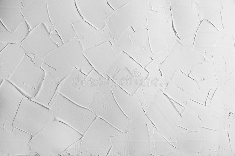White wall stucco plaster texture, background with right angles stock photos