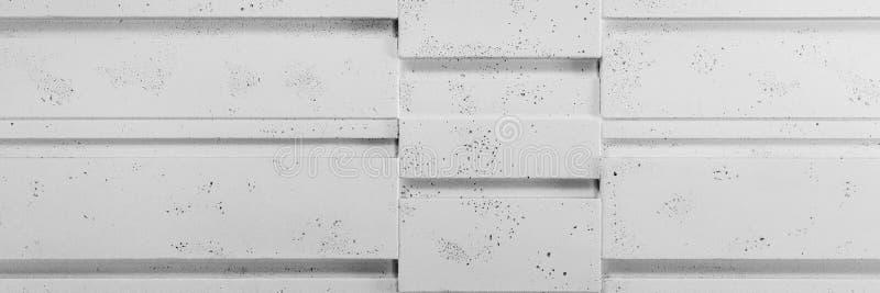 White stone tiles on the wall stock image
