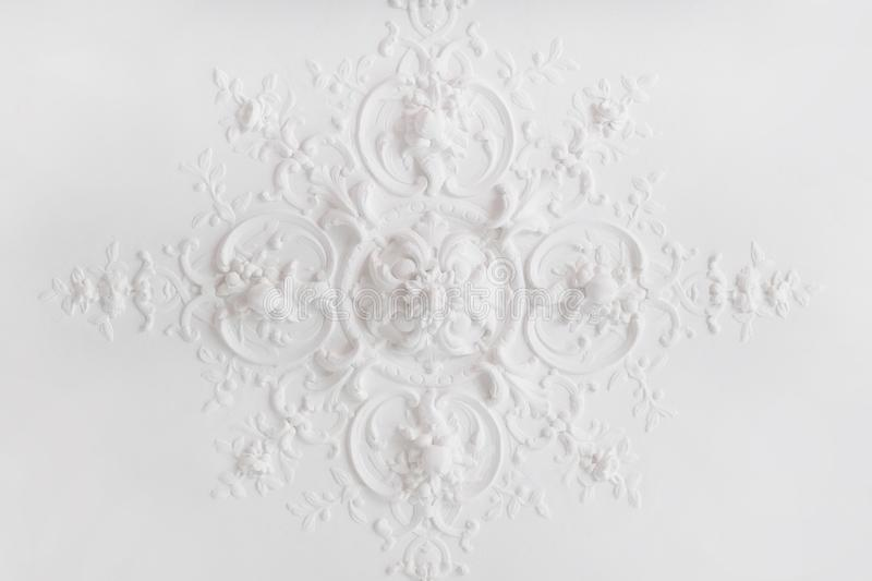 White, Wallpaper, Lace, Pattern royalty free stock image