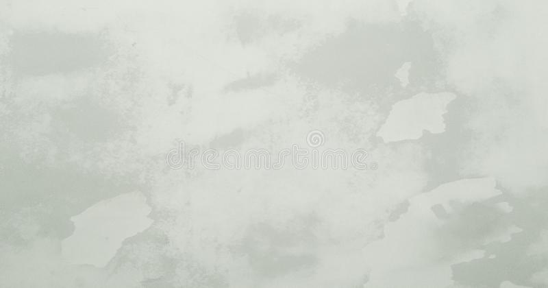White washed painted textured abstract background with brush paint strokes in white and black shades. Abstract painting art backgr royalty free illustration