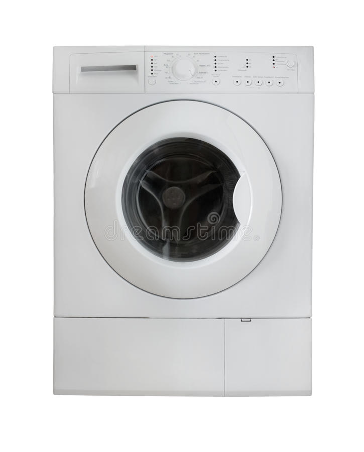 White Washing Machine Stock Photos