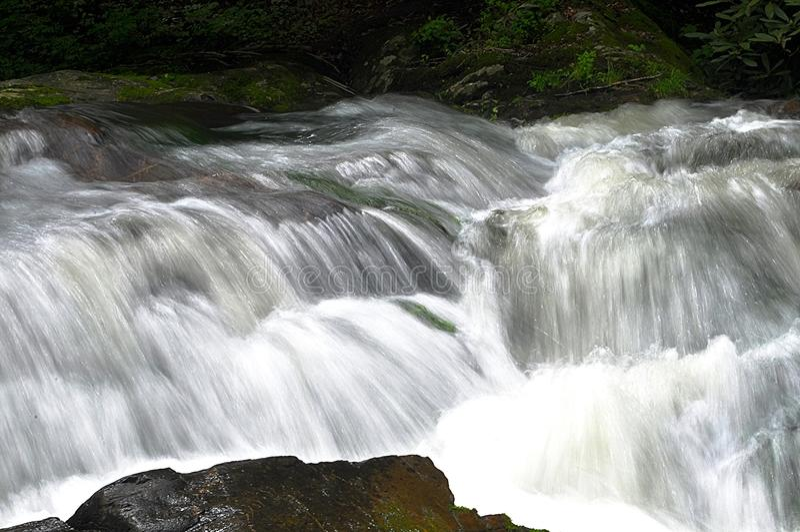 White Water stock image