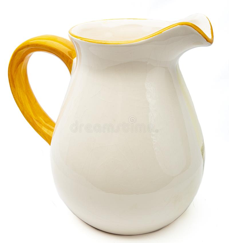 Free White Water Pitcher Stock Image - 121477081