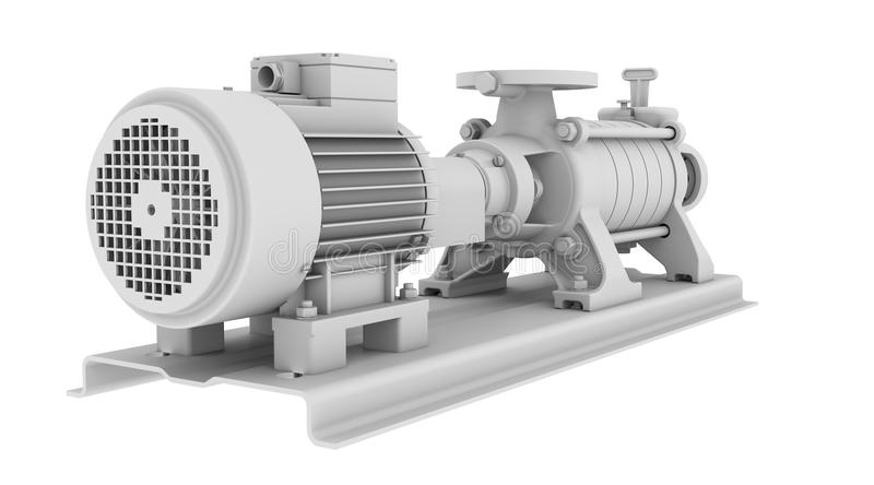 Download White water pump stock photo. Image of frame, appliance - 32825202