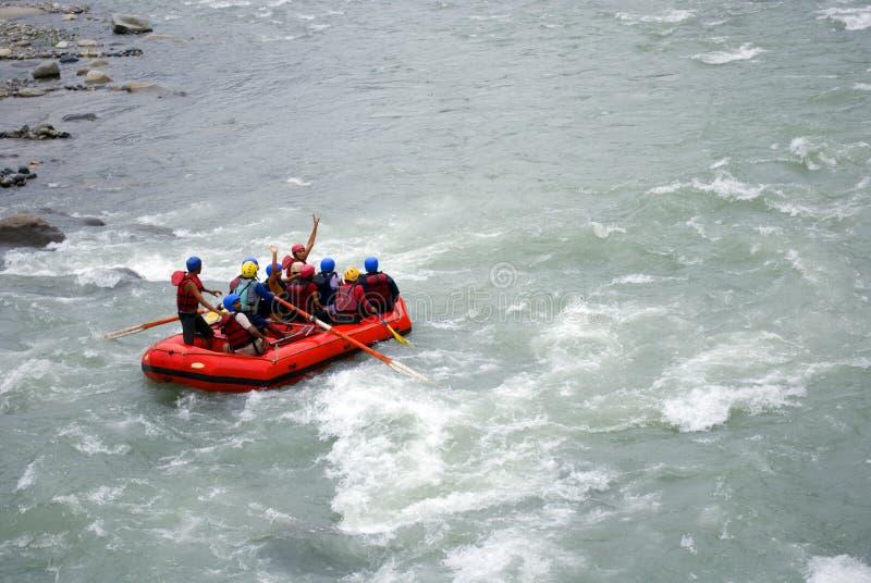 White Water Rafting Editorial Image