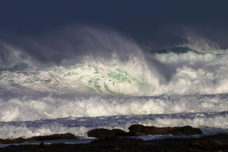 Download White Water Wave Contrasts stock photo. Image of waves - 25763330