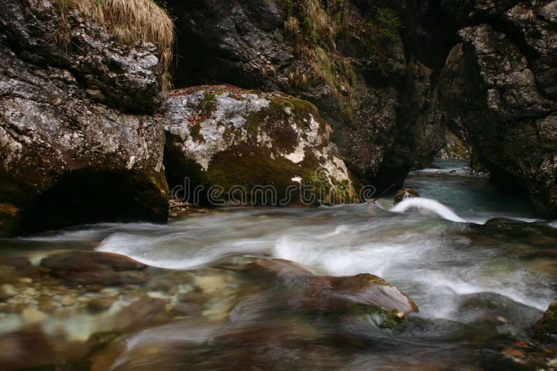 White waters royalty free stock photography