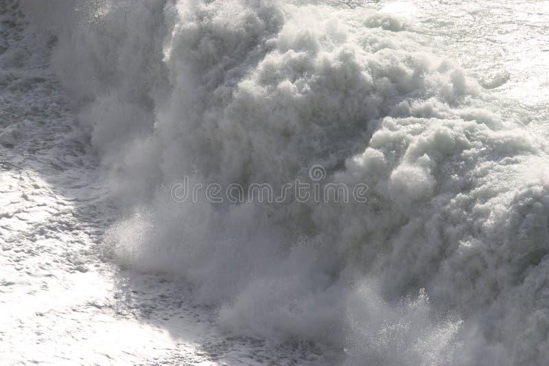White Wave royalty free stock photo