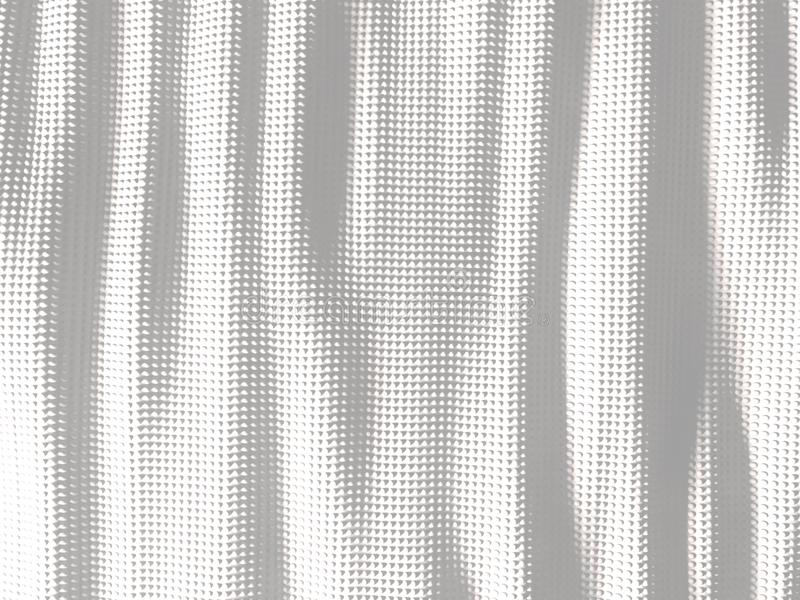 White wavy abstract dots background stock illustration