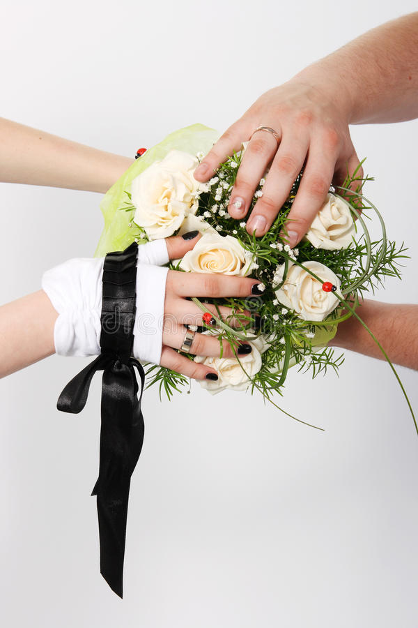 Download White wedding bouquet stock photo. Image of bridal, married - 20694186