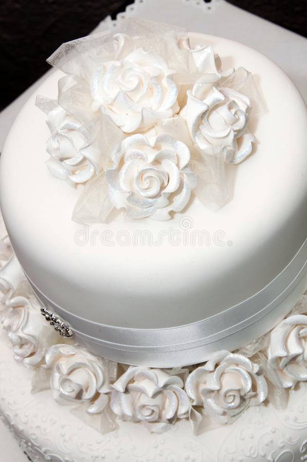fondant icing wedding cake white wedding cake stock photo image of bakery marriage 14370