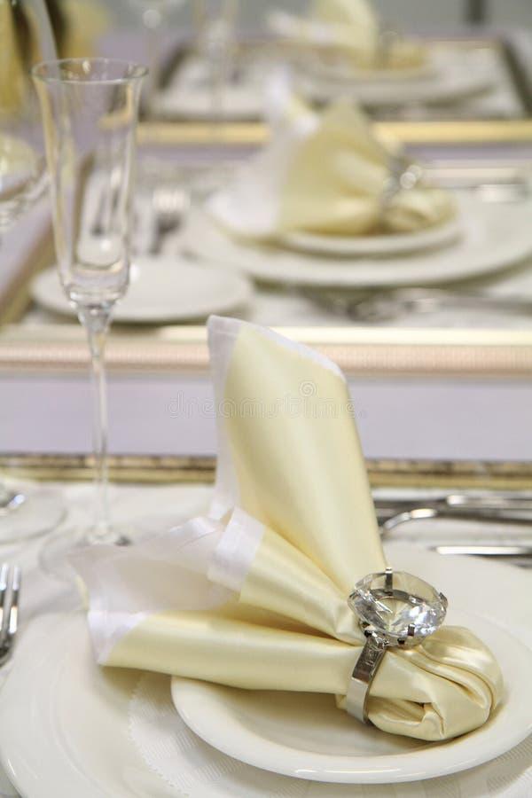 Free White Wedding Table Decoration Stock Photos - 45834663
