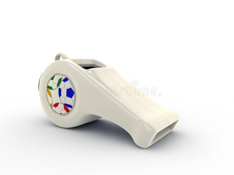 Download White Whistle Stock Photo - Image: 17617990