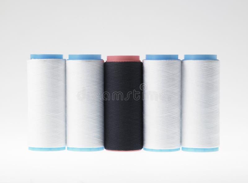 Download White On White, Spools Of Thread On White Background Stock Photo - Image: 31047004