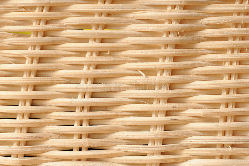 White Wicker Texture Royalty Free Stock Image