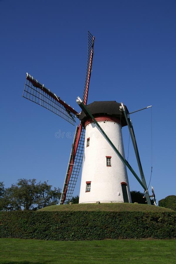 Free White Windmill Royalty Free Stock Photos - 3328588