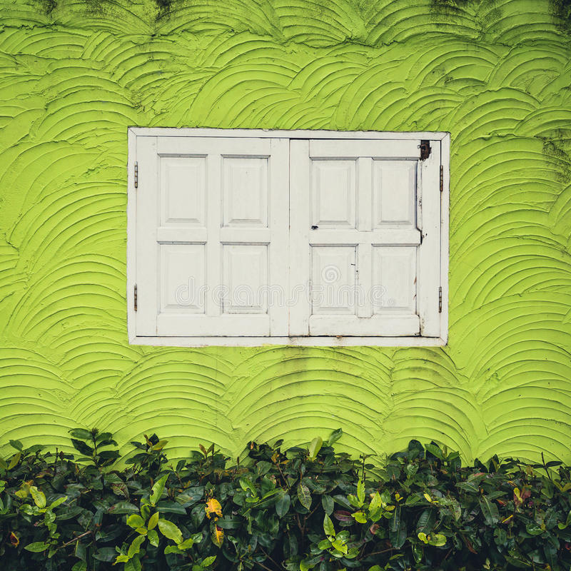 Download White Window And Green Background Royalty Free Stock Images - Image: 34476079