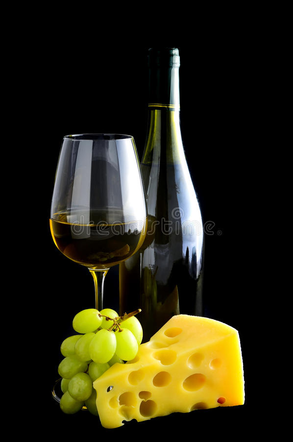 Download White wine and cheese stock photo. Image of tasty, italian - 18856422