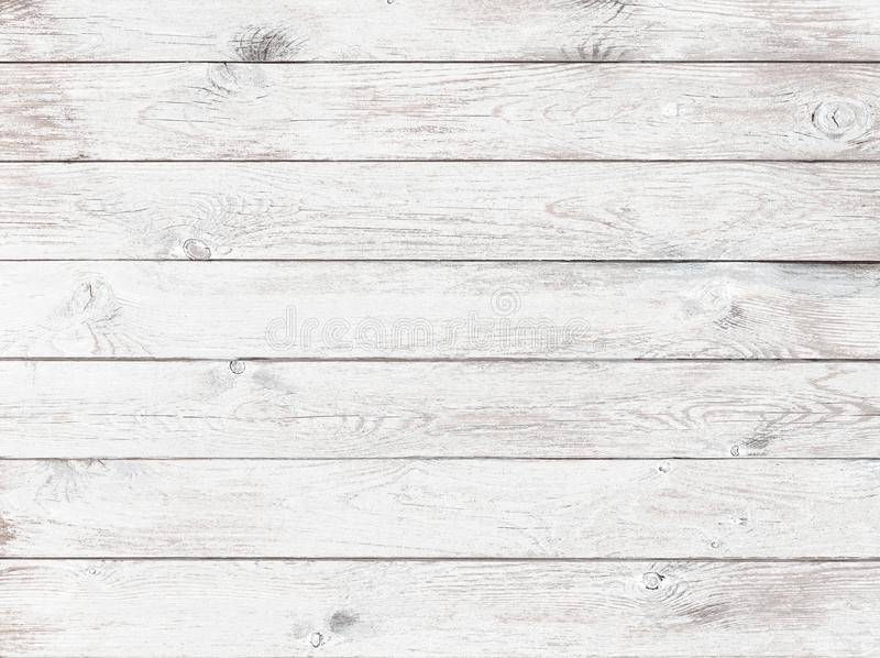Old white wood background or texture royalty free stock image