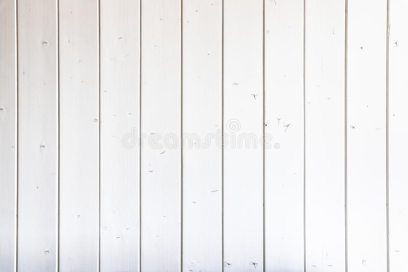 White wood background. White grey painted wooden board wall plank texture background royalty free stock photos