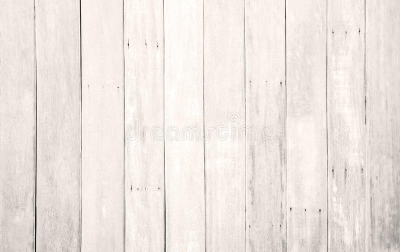 White wood floor texture background. plank pattern surface pastel painted wall; gray board grain tabletop above oak timber; tree royalty free stock photography