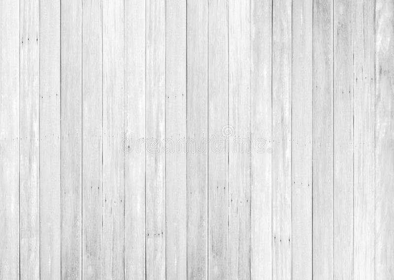 White wood floor texture background. plank pattern surface pastel painted wall; gray board grain tabletop above oak timber; tree stock image