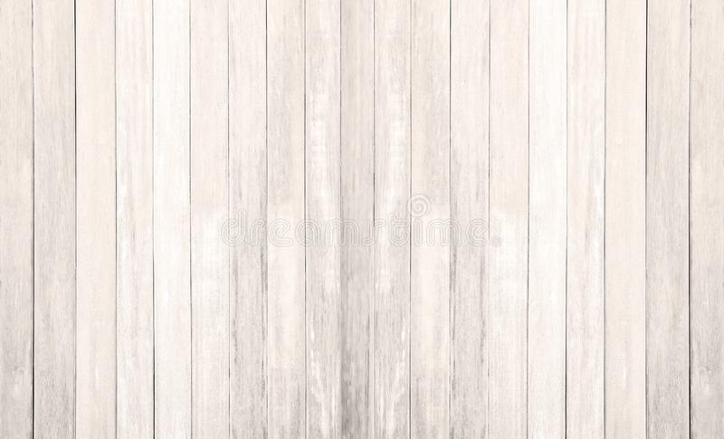 White wood floor texture background. plank pattern surface pastel painted wall; gray board grain tabletop above oak timber; tree royalty free stock image