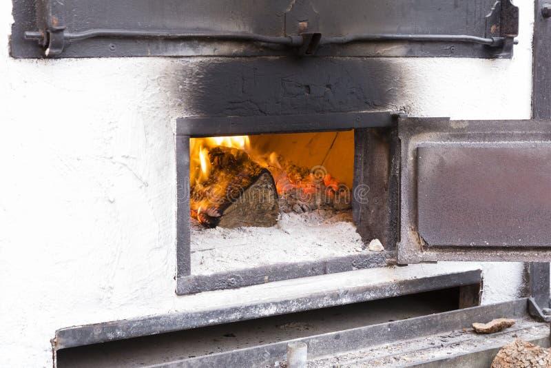 White wood oven stock photo. Image of oven, open, bake ...