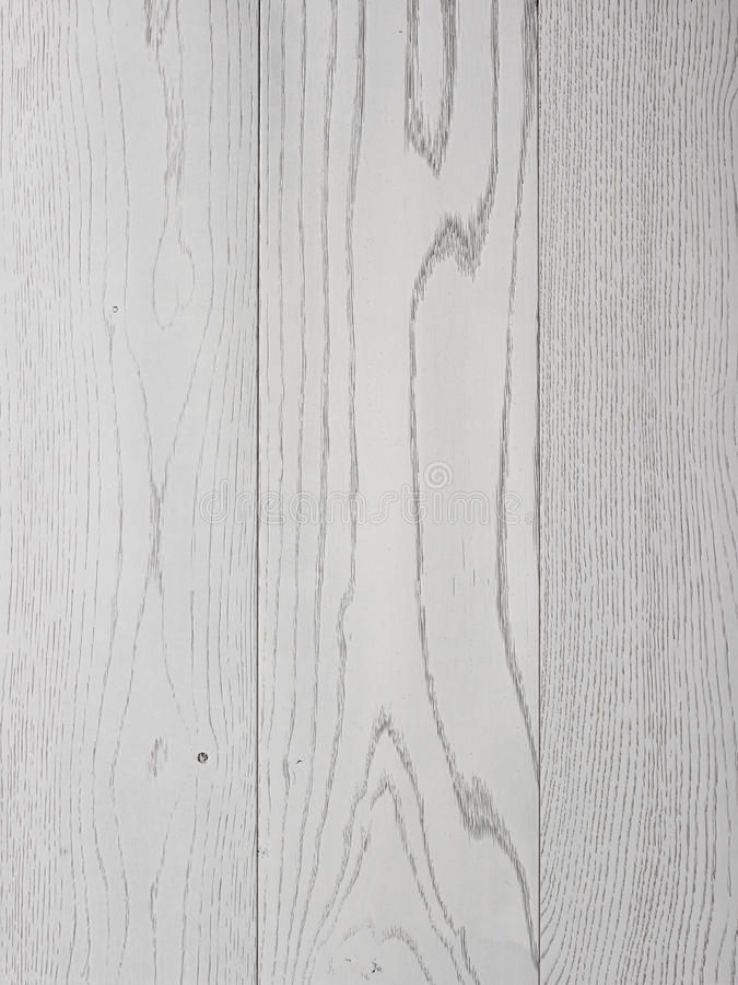 White wood panels. Close up of textures and grains in white painted panels stock image