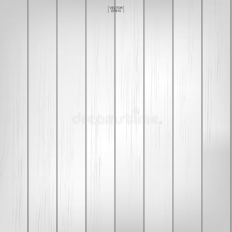 White wood pattern and texture background. Vector illustration. vector illustration