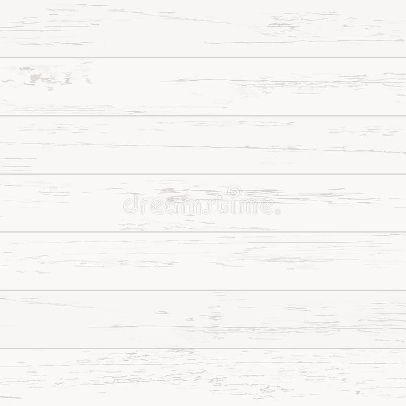 White wood pattern and texture for background. Vector. vector illustration