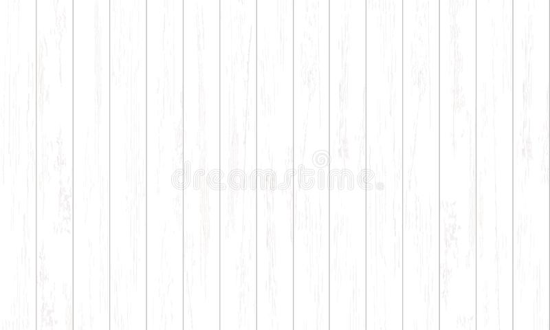 White wood pattern and texture for background. Vector. Illustration vector illustration